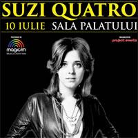 Stiri Evenimente Muzicale - Concert Suzi Quatro in premiera in Romania