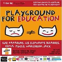 Stiri Evenimente Muzicale - Playground for education - concerte Suie Paparude, Les Elephants Bizarres, Coma si jocuri de copii si oameni mari