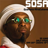 Stiri Evenimente Muzicale - Omar Sosa Quarteto Afro Cubano la Jazz Night Out