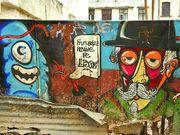 Graffiti pe Lipscani